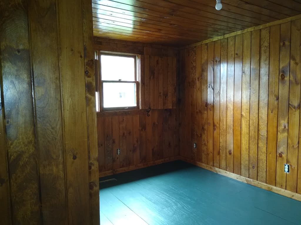 Bedroom #2 – Countdown to the opening of Cabin #11