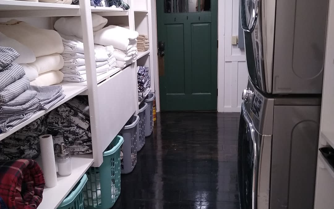 Our Laundry/Utility Room is up and running!