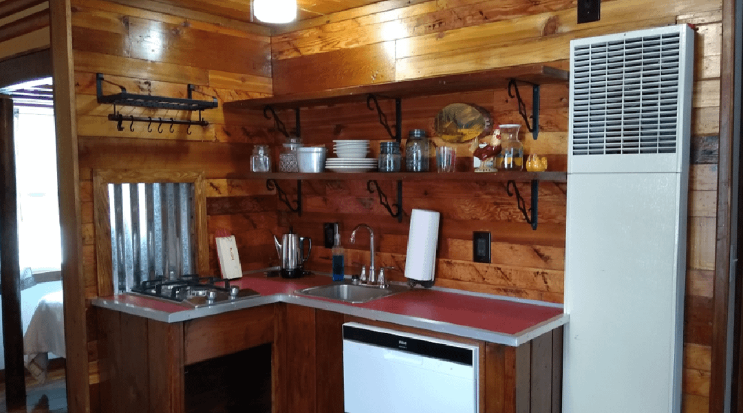 Cabin #1 is Fully Updated and Ready to Be Booked for this Spring! Check out the Finished Look!